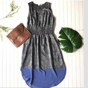Gap summer dress printed black white blue